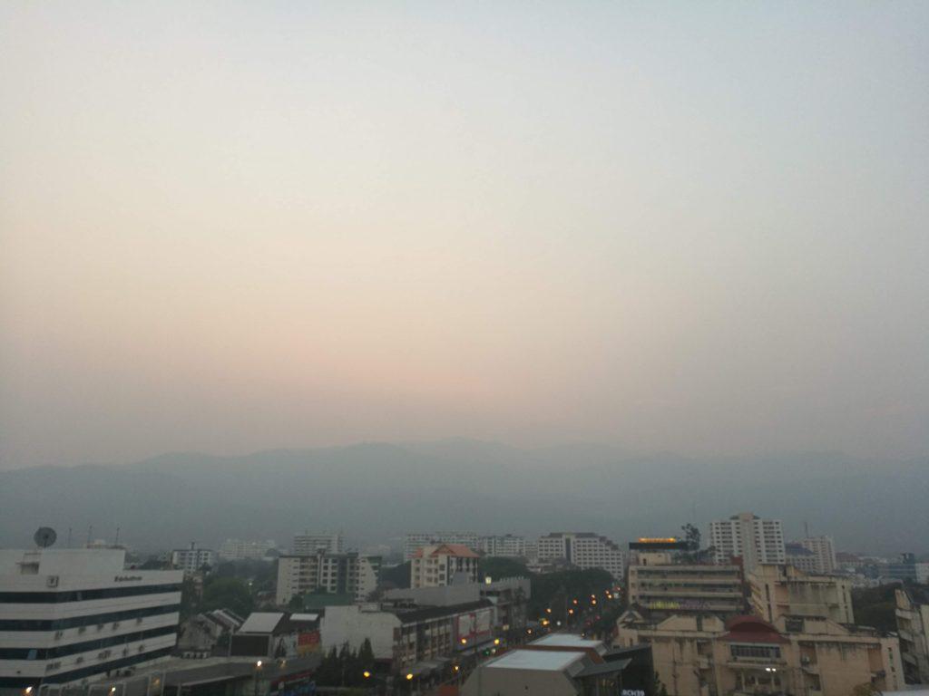 気になるチェンマイの大気汚染